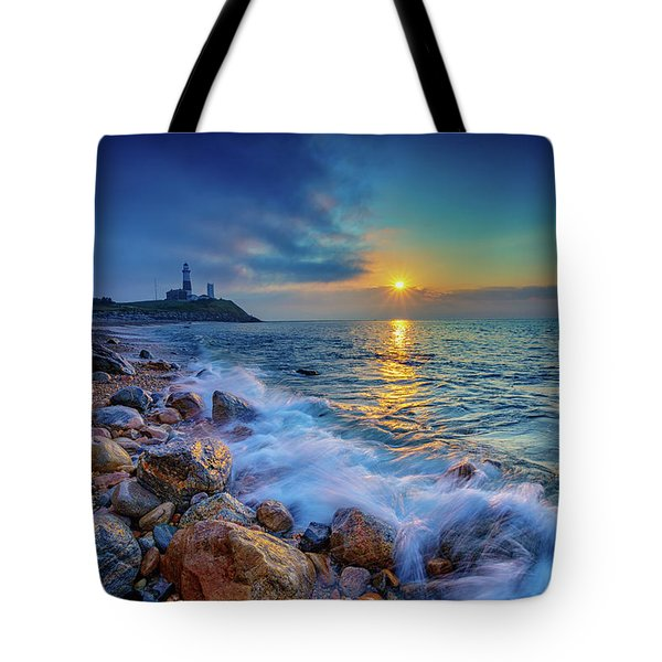 Montauk Sunrise Tote Bag