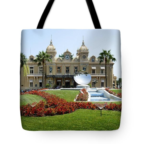Tote Bag featuring the photograph Monte Carlo Casino by David Birchall