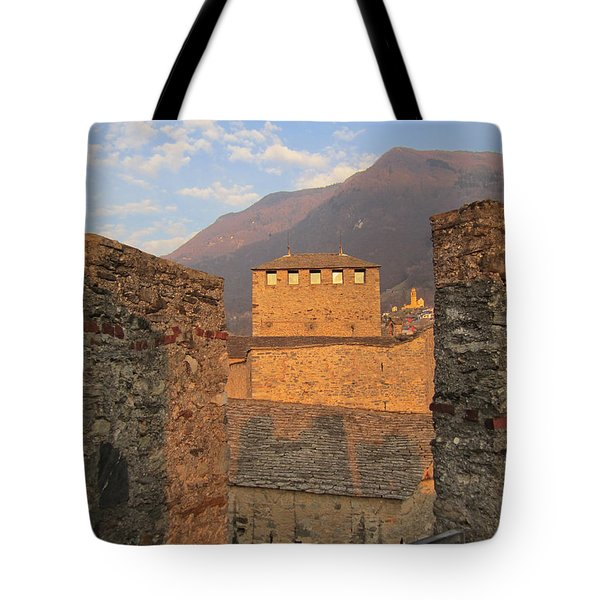 Montebello - Bellinzona, Switzerland Tote Bag