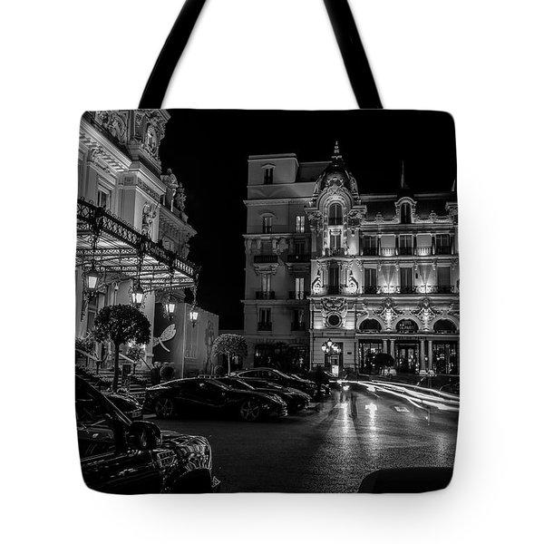 Montecarlo Nights Tote Bag