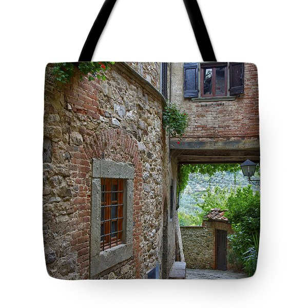 Montefioralle Tuscany 2 Tote Bag