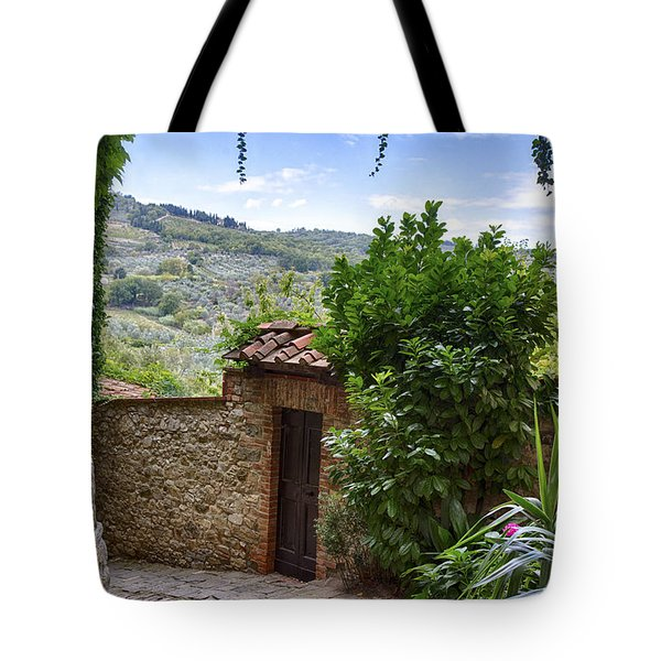 Montefioralle, Tuscany Tote Bag
