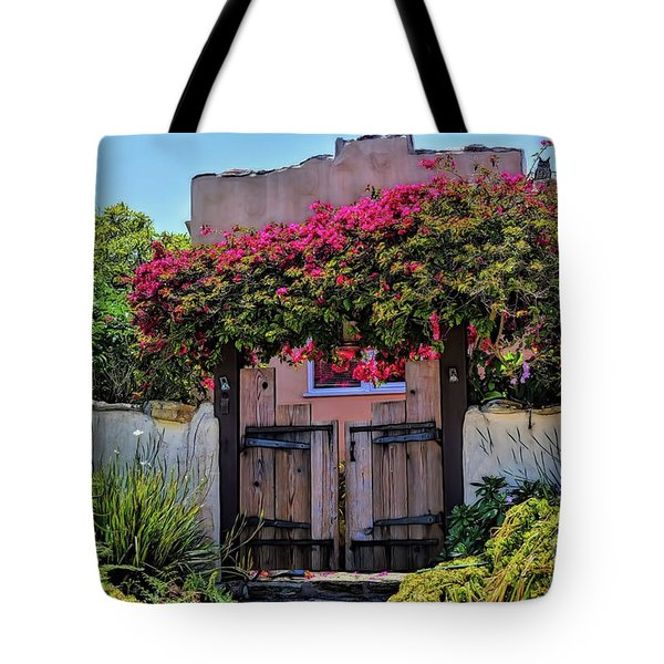 Monterey Charm Tote Bag by Gina Savage