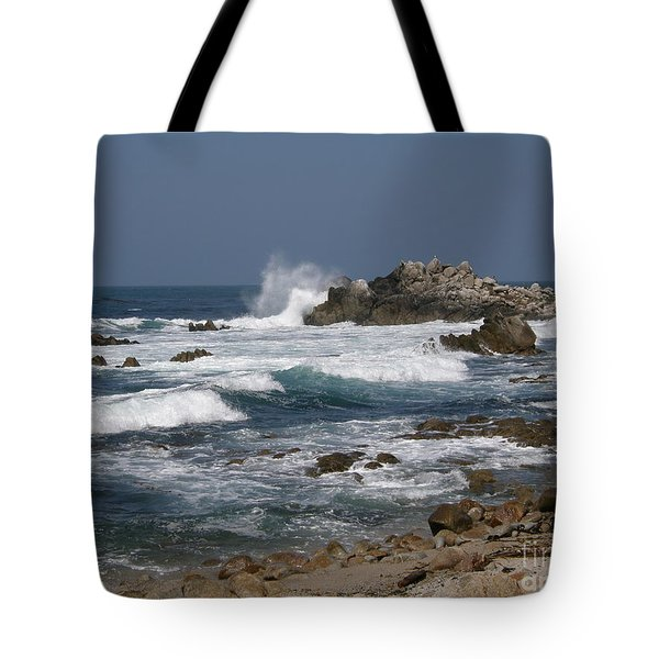 Monterey Coastline Tote Bag