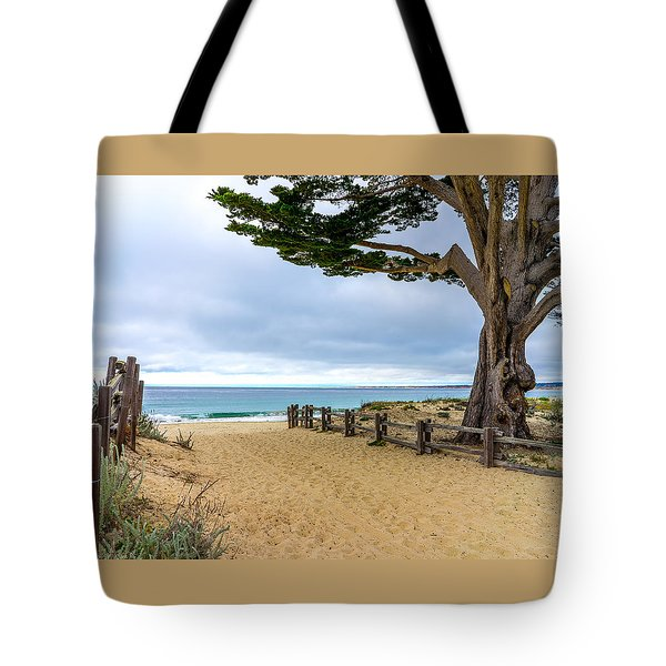 Monterey Day Tote Bag