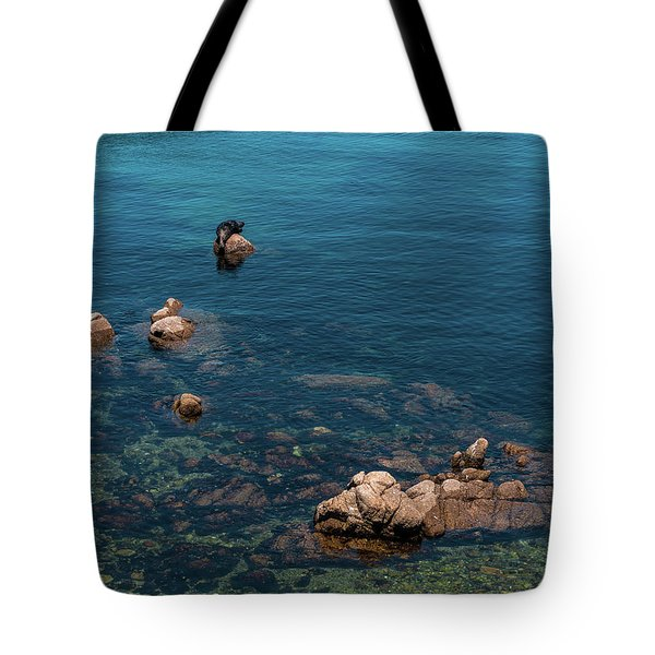 Monterey Tote Bag by Martina Thompson
