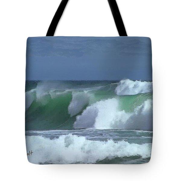 Monterey Surf Tote Bag