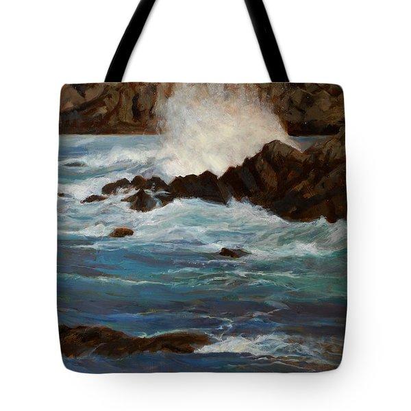 Monterey Wave #1 Tote Bag