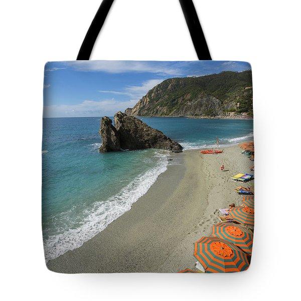 Monterosso Beach Day Tote Bag