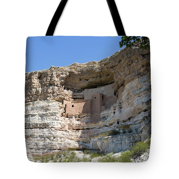 Tote Bag featuring the photograph Montezuma Castle National Monument Arizona by Steven Frame