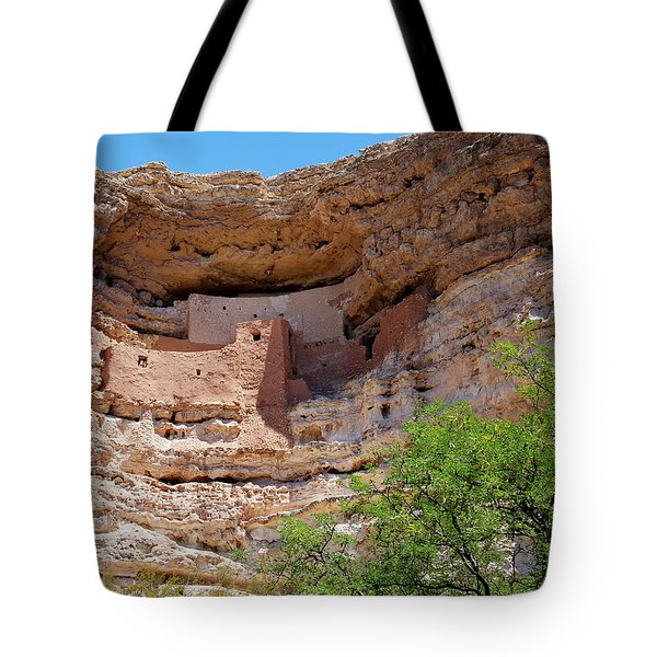 Montezuma's Castle Tote Bag by Arthur Dodd