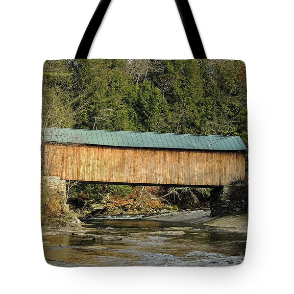 Montgomery Road Bridge Tote Bag