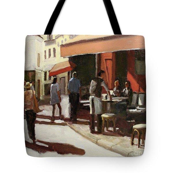 Montmarte Cafe Tote Bag