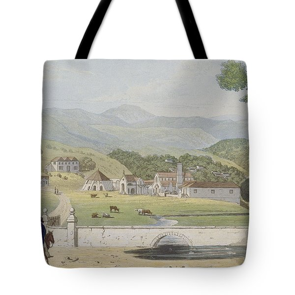 Montpelier Estates - St James Tote Bag by James Hakewill