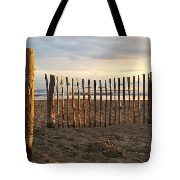 Montpellier France Beach  Tote Bag by Beryllium Photography