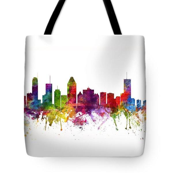 Montreal Canada Cityscape 06 Tote Bag