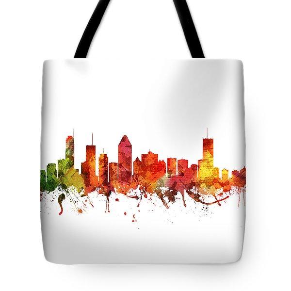 Montreal Cityscape 04 Tote Bag