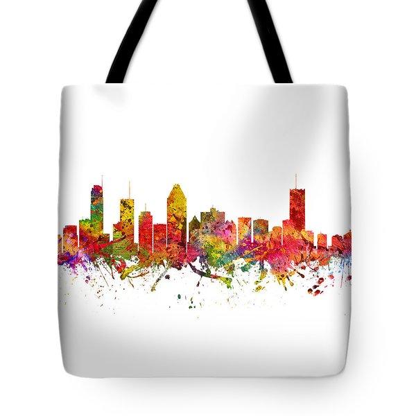 Montreal Cityscape 08 Tote Bag