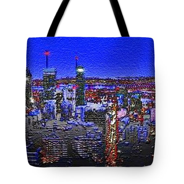 Montreal Etched Tote Bag