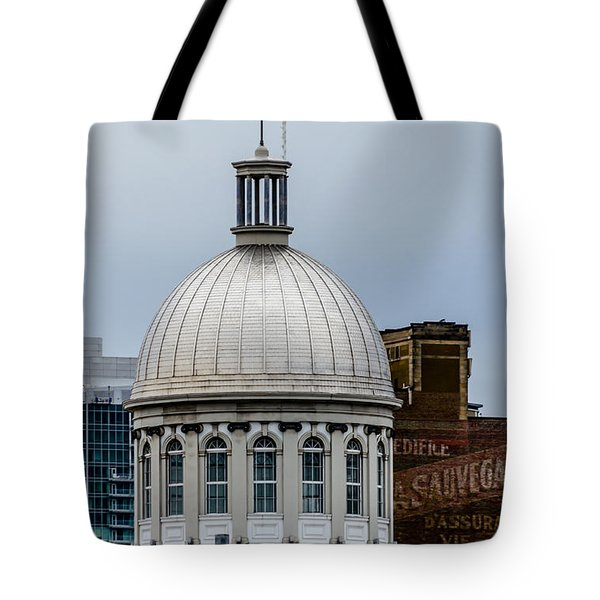 Montreal Marche Bonsecours  Tote Bag by Steven Richman