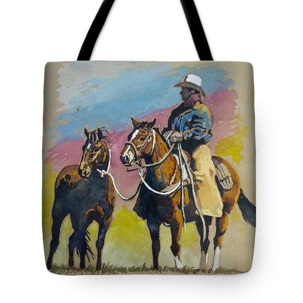 Monty Roberts Tote Bag