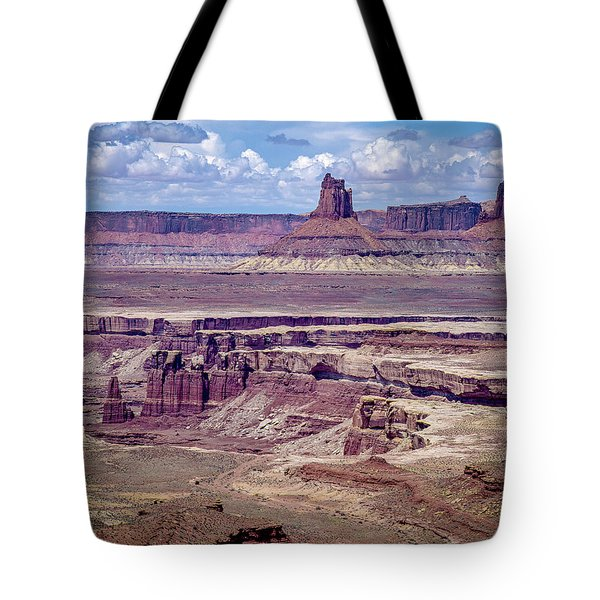 Monument Basin, Canyonlands Tote Bag