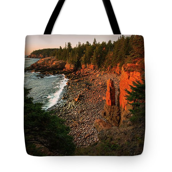 Monument Cove Tote Bag