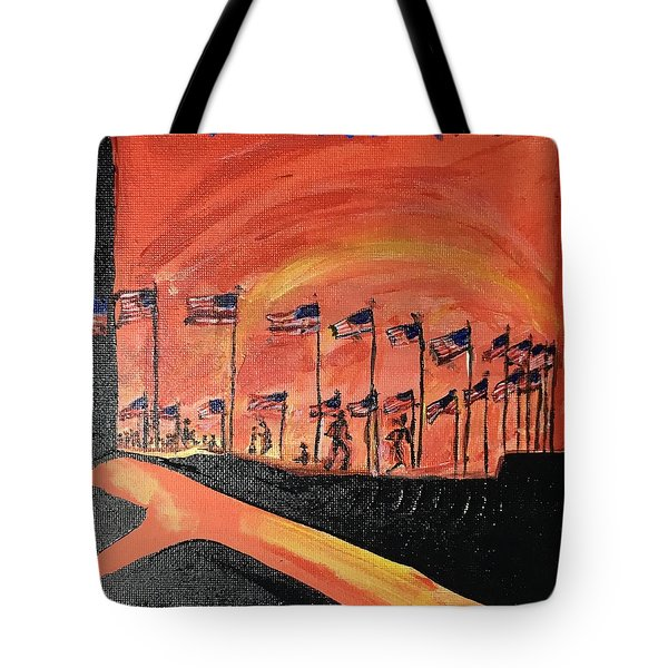 Monument II Tote Bag