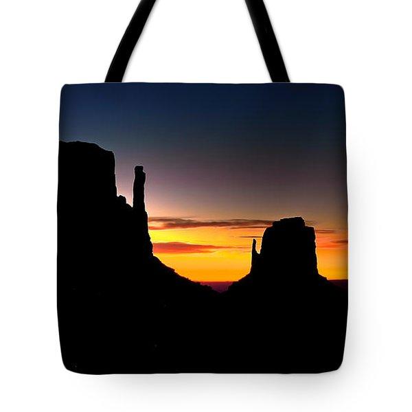 Monumental Morning Tote Bag