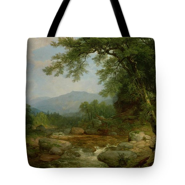 Monument Mountain - Berkshires Tote Bag by Asher Brown Durand