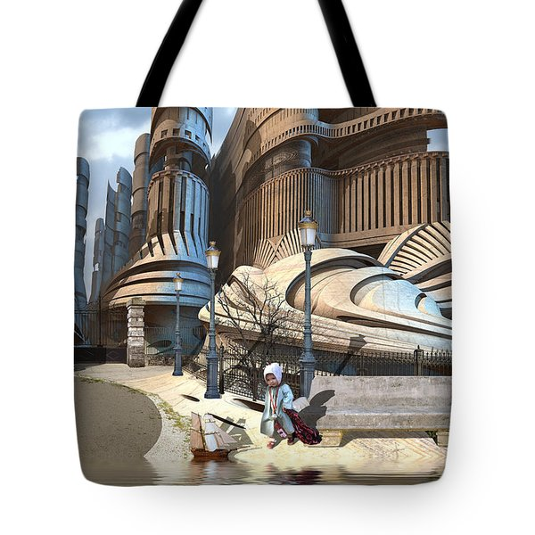 Monument Park Tote Bag
