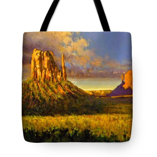 Monument Passage Tote Bag