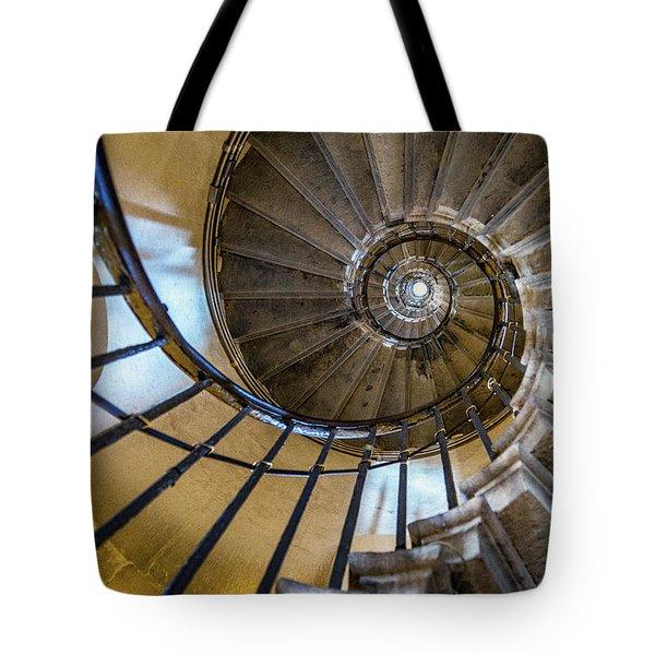 Monument Stairs Tote Bag by Jae Mishra