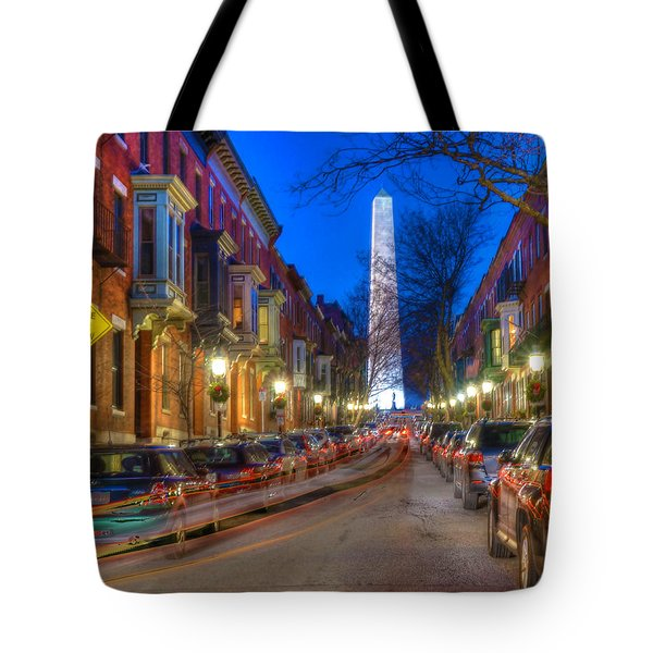 Monument Street Charlestown 023 Tote Bag