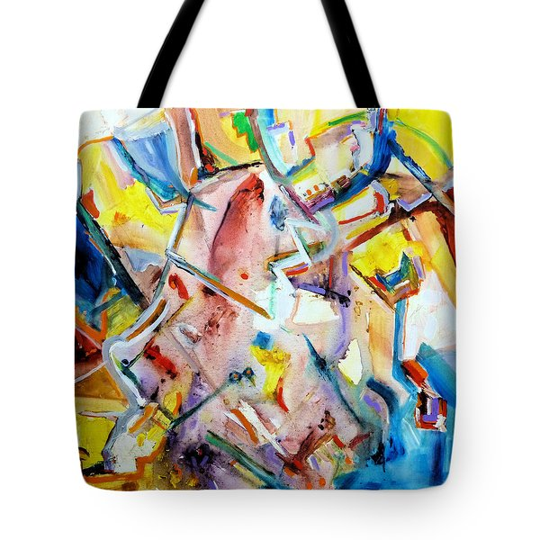 Monument To Aboutness Tote Bag