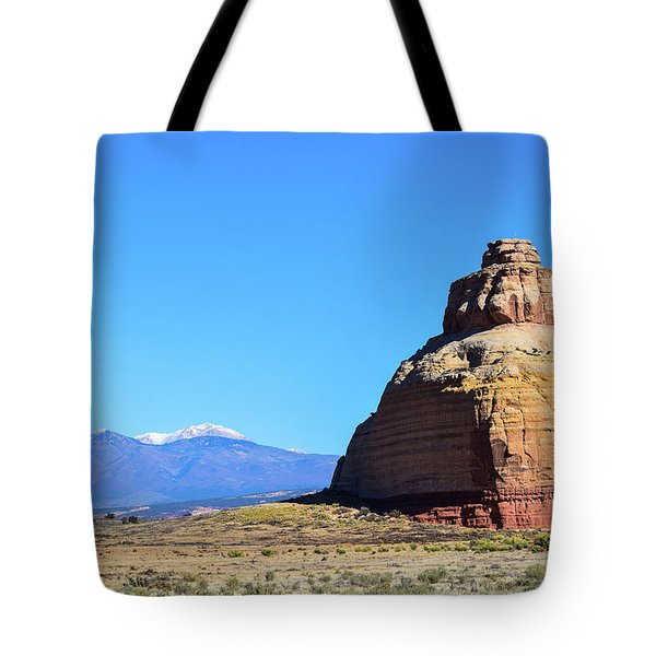 Monument To Time Tote Bag