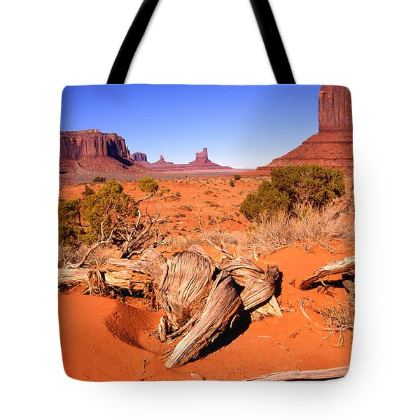 Monument Valley, Arizona, U S A Tote Bag
