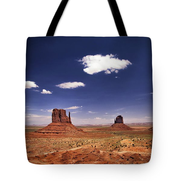 Monument Valley Tote Bag by James Bethanis