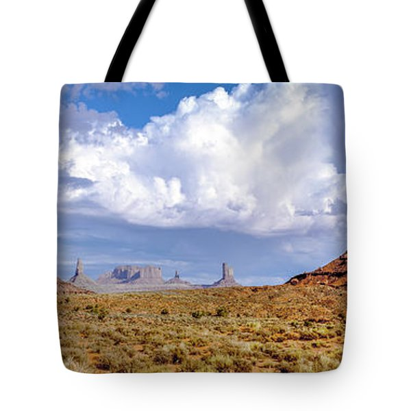 Monument Valley Mittens Tote Bag
