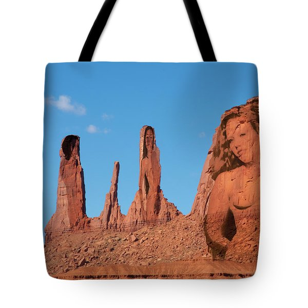 Monument Valley Nymph #3 Tote Bag
