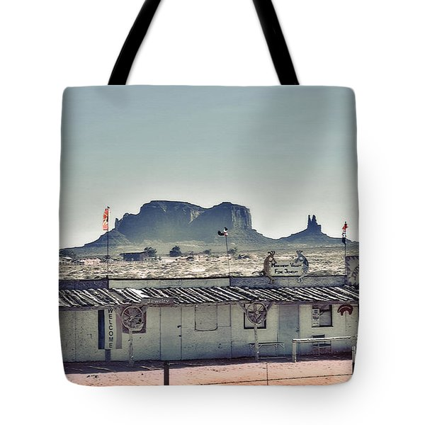 Monument Valley - Reservation 3 Tote Bag
