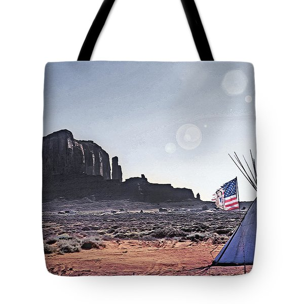 Monument Valley - Reservation 4 Tote Bag