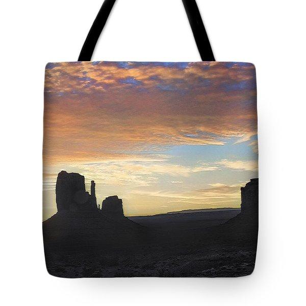 Monument Valley - Sunrise Vista  Tote Bag