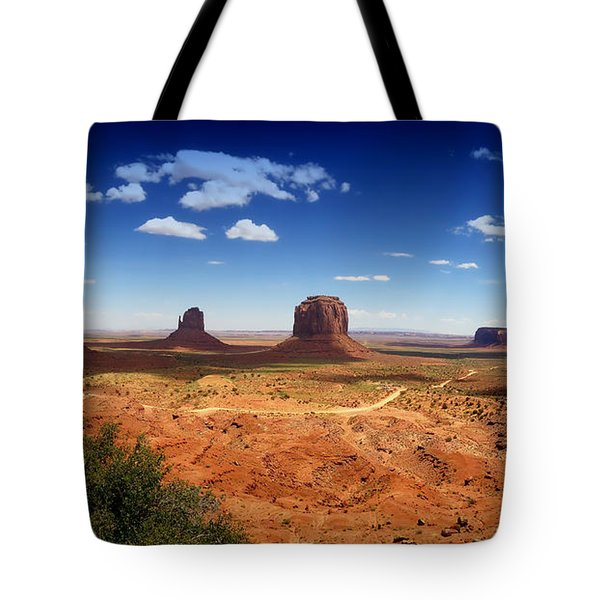 Monument Valley Utah Tote Bag by James Bethanis