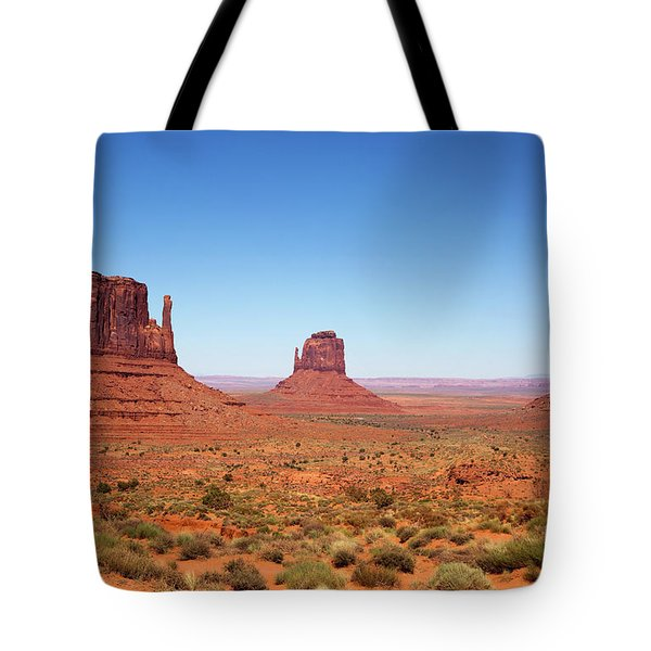 Monument Valley Utah The Mittens Tote Bag