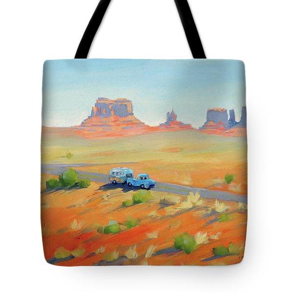 Monument Valley Vintage Tote Bag