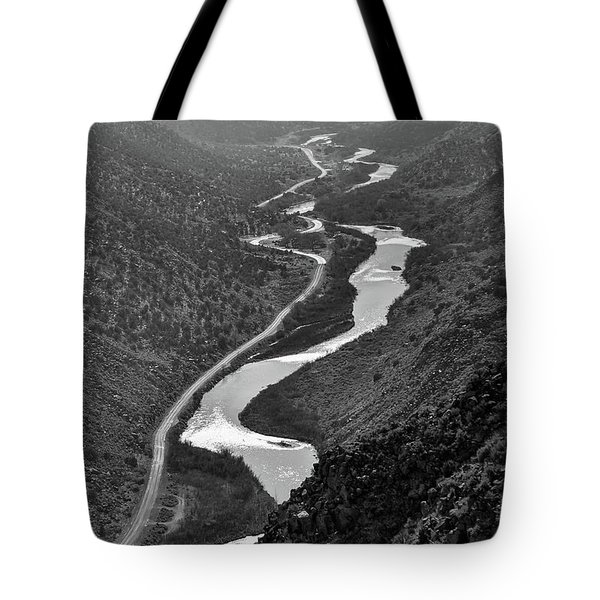 Tote Bag featuring the photograph Monument View by Britt Runyon