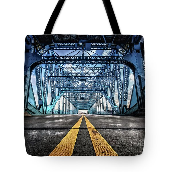 Monumental Market Street Tote Bag by Steven Llorca