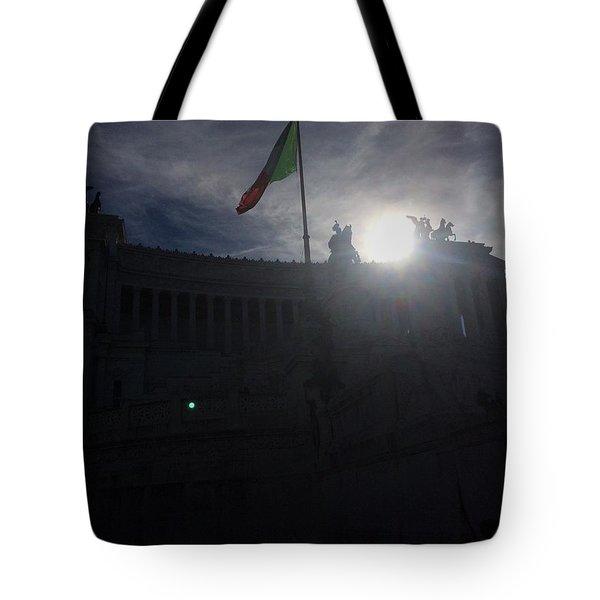 Monumento Nazionale A Vittorio Emanuele II Tote Bag
