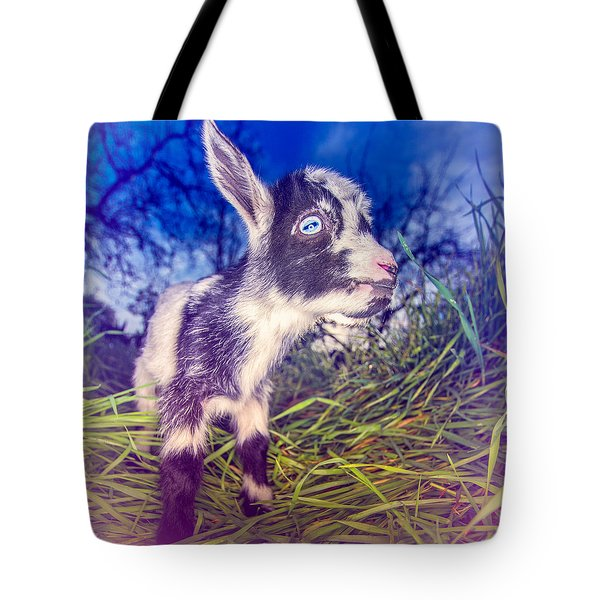 Moo Cow Love Grass Tote Bag